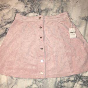 Forever 21 Soft Pink Skirt